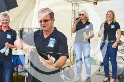 Uwe Cramer bei der Eröffnung