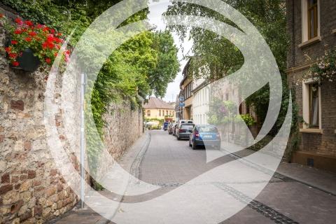 Straße in Nierstein