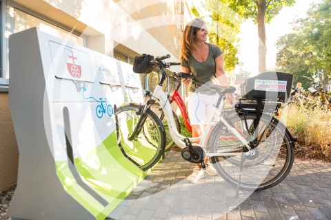 E-Bike Ladestation in Nieder-Olm