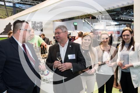 Andy Becht mit Roland Hinkel