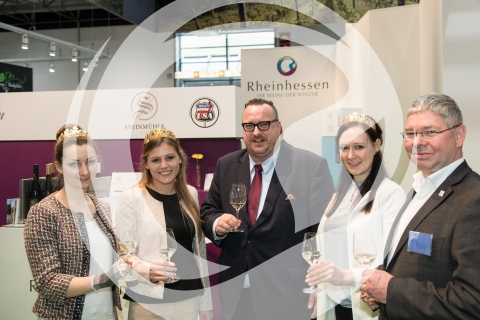 Rheinhessische Weinmajestäten mit Andy Becht und Roland Hinkel