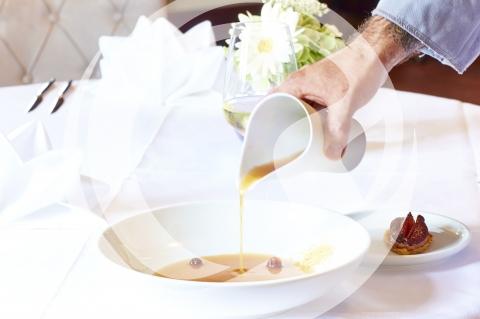 raffinierte Grumbeersuppe