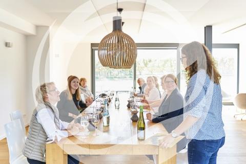 Weinprobe im Weingut Winter