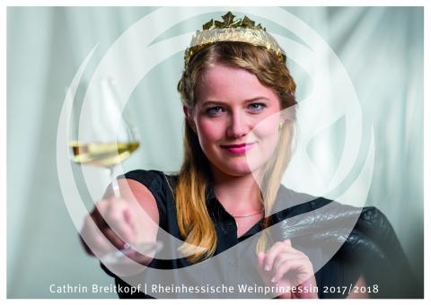 Cathrin Breitkopf, Rheinhessische Weinprinzessin 2017/2018