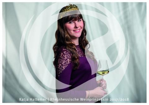 Katja Hattemer, Rheinhessische Weinprinzessin 2017/2018