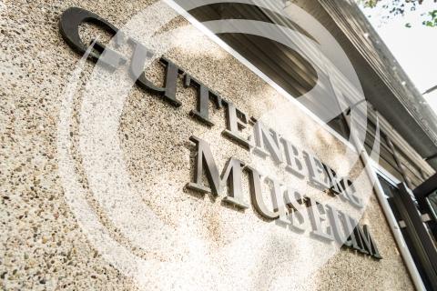 Schild Gutenberg Museum