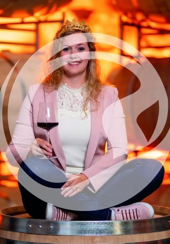 Autogrammkarte Romina Paukner Weinprinzessin 2019/2020