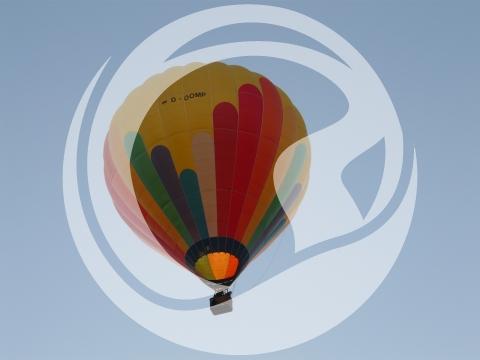Fahrt mit dem Heißluftballon