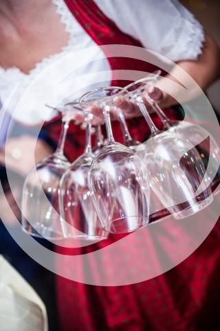 Weinglas Service