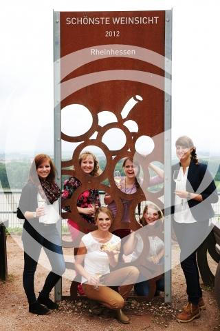 Die Kandidatinnen für das Amt der Rheinhessischen Weinkönigin 2014 / 2015