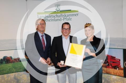Verleihung der Silberne Kammerpreismünze an Christian Rupp