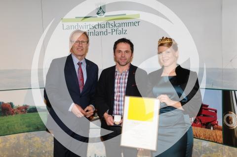 Verleihung der Goldenen Kammerpreismünze an Erik Sommer