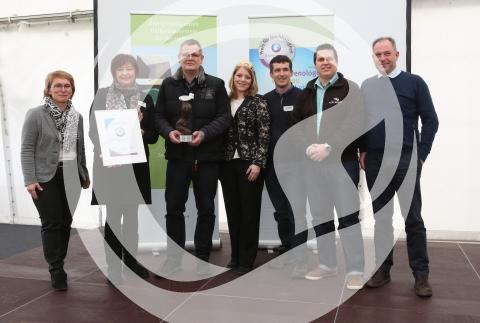Gruppenfoto Preis für Nachhaltigkeit 2015