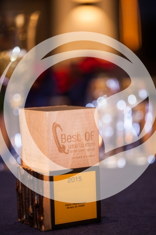 Preis Best of Wine Tourism Award 2015