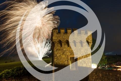 Feuerwerk des St. Albansfest-Weinfest ausgezeichnet