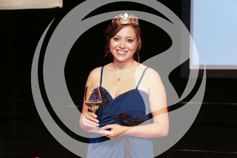 Kathrin Weinbach, rheinhessische Weinprinzessin 2015/2016