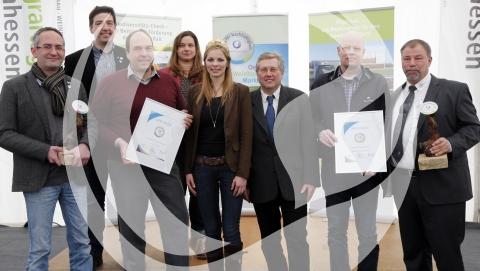 Gruppenfoto Preis für Nachhaltigkeit 2016