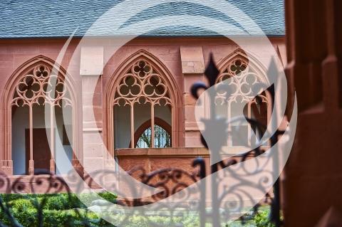 Kreuzgang der Pfarrkirche Sankt Stephan in Mainz