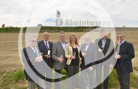 Einweihung Rheinhessen Schild