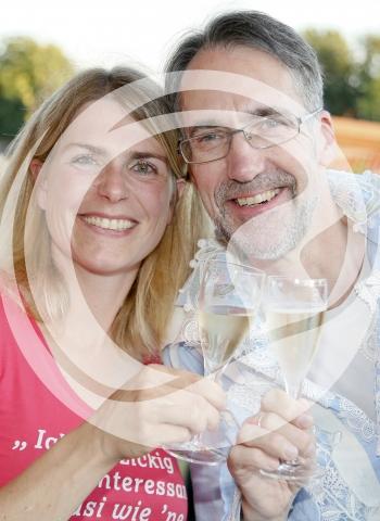 Dr. Eva Vollmer und Stuart Pigott