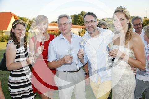 Scheurebe Party Gruppenfoto