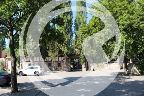 Amiche Radroute - Eingang zu Jordans Untermühle in Köngernheim