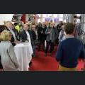 Tim Weißbach begrüßt die Gäste