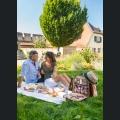 Picknick an der Burgkirche