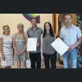 Preisträger Der Beste Schoppen - Siegerwein Rivaner/ Müller Thurgau  Nieder-Olmer Weinstube/ Weingut Georg Gustav Huff