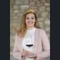 Autogrammkarte Weinprinzessin Romina Paukner
