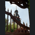 Turm der evangelischen Kirche