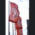 Fahnen mit dem Mainzer Wappen