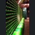 Flaschenlager im Kupferberg Keller