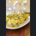 Tortilla mit grünem Spargel