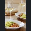 Gurken Fenchel Salat mit scharfem Huhn