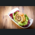 Weinbergschnecke aus Blätterteig
