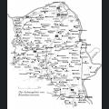 Landkarte Rheinhessen