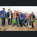 Pflanzung im Majestätenweinberg - Gruppenfoto