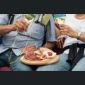 Winzervesper auf einem Weinfest