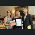 Wein- und Genusscoach Zertifikatsübergabe