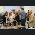 Weinmajestäten bei der Weinverkostung