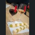 """Gläser """"Rotweinfest Ingelheim am Rhein"""" mit Traube-Käse-Spieße"""