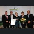 Urkundenverleihung Ehrenpreis der Stadt Ingelheim Weingut Eckhard Weitzel