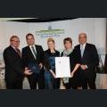 Urkundenverleihung Ehrenpreis des Landkreises Alzey-Worms Weingut Machmer