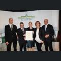 Urkundenverleihung Ehrenpreis der Industrie- und Handelskammer Rheinhessen Weingut St. Quirinshof