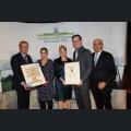 Urkundenverleihung Ehrenpreis des Weinbauverbands Rheinhessen Weingut Gerold Spies