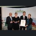 Urkundenverleihung Ehrenpreis des Rheinhessenwein e.V.  Weingut Martinushof
