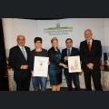 Urkundenverleihung Ehrenpreis des Weinbauversuchsring Weingut Scheffer