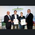 Urkundenverleihung Ehrenpreis der Rheinhessischen Rebenpflanzguterzeuger Weingut Karl May