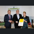 Verleihung der Goldenen Kammerpreismünze an Walter Bernd